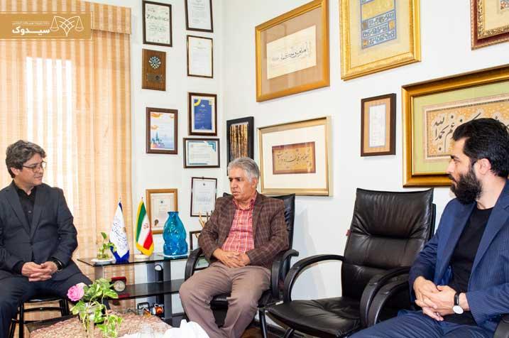 نشست مشترک سیدوک و انجمن خوشنویسان پایتخت